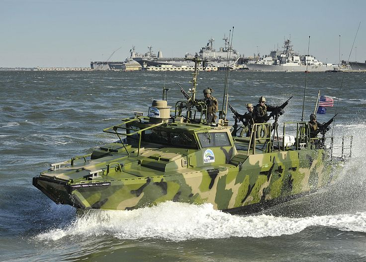 So much for Obama's appeasement toward Iran Navy riverine boats ...