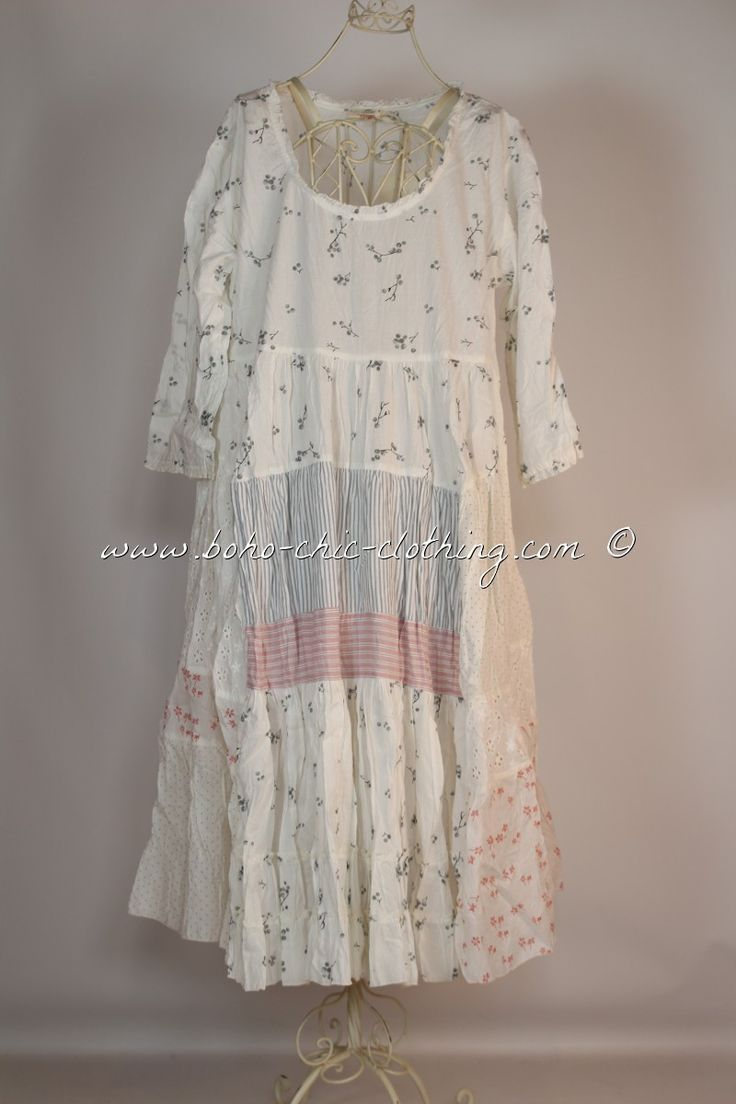 Dress sushi from nadir positano ss 2015 shabby chic boho chic lagenlook mori girl nadir - Shabby chic outfit ideas ...