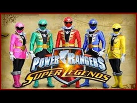 Power Rangers Super Legends [ Full Gameplay ] - Power Rangers Games - YouTube