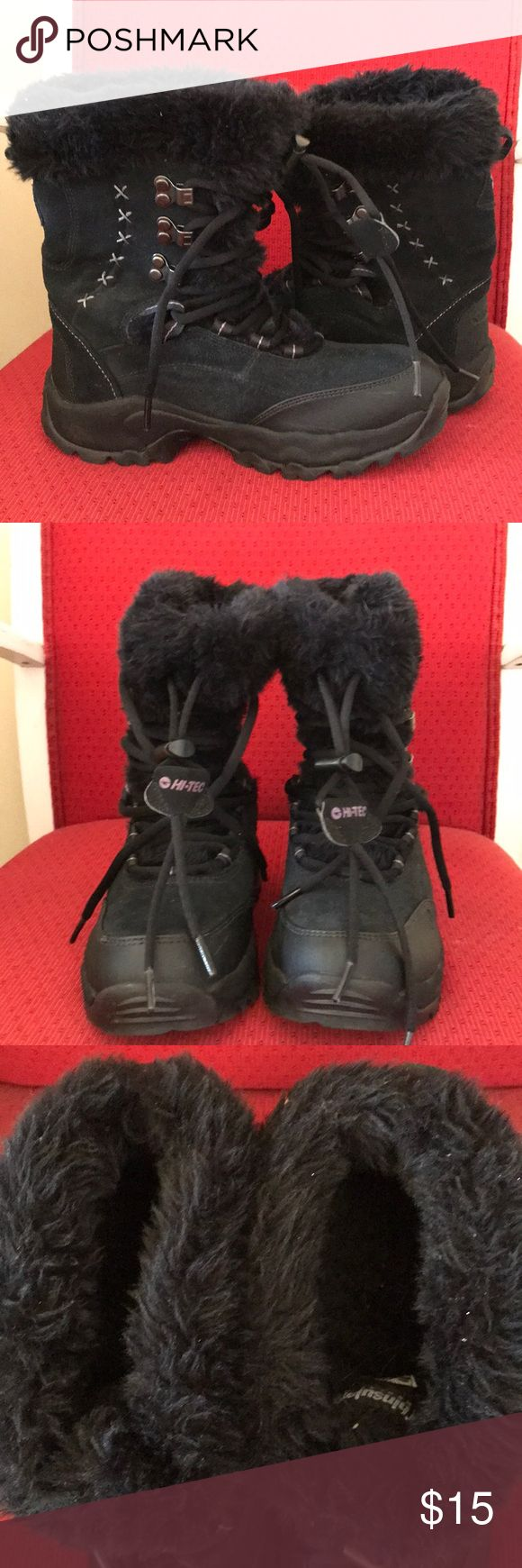 HI-TEC snow boots Excellent condition clean inside out snow boots from HI-TEC. Definitely a must for the winter. Soles in excellent condition. With very minor dirt/scratch and hardly noticeable ( see  7th pic) Hi-Tec Shoes Winter & Rain Boots