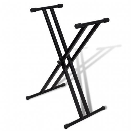 #Vidaxl postazione da tastiera a doppio - In stock  ad Euro 24.99 in #Vidaxl #Leggii per musica