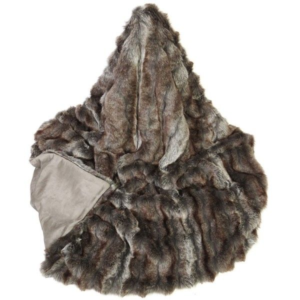 helen moore musquash faux fur throw king size 730 liked on polyvore featuring - King Size Blanket