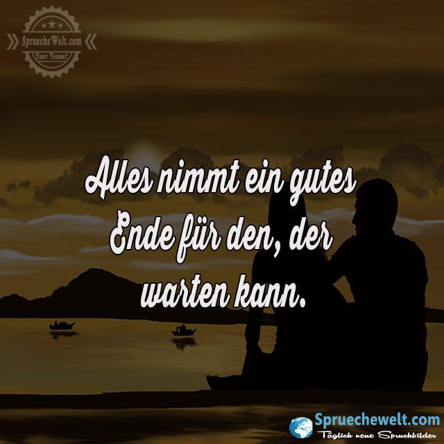 Alles nimmt ein gutes Ende für den, der warten kann ...