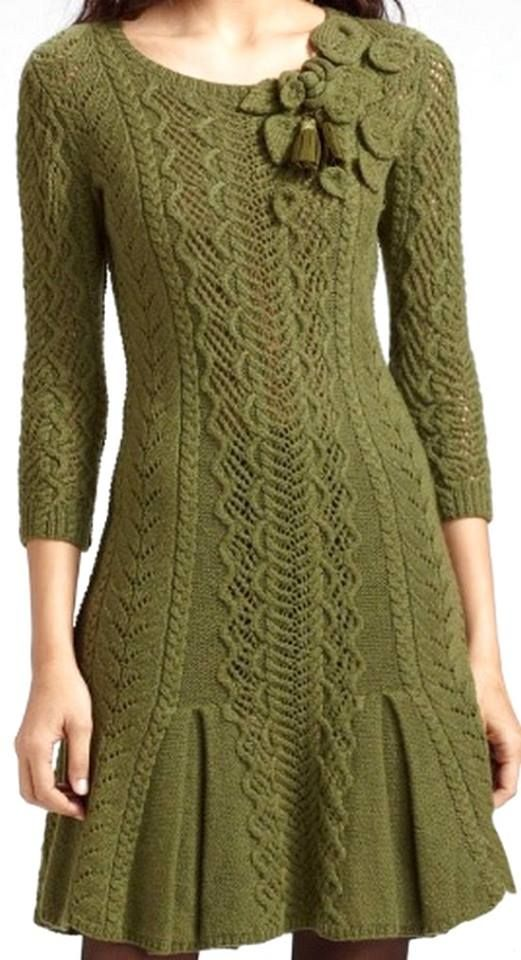 nice knitted dress