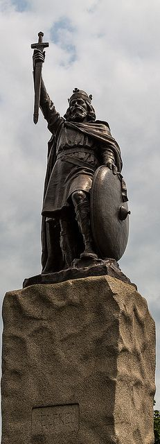 King Alfred the Great statue, Winchester