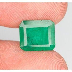 Jual Zamrud Brazil 4.3 carat Oktagon Cut Info: 0 888 1 6262 52 (Call/SMS/WhatsApp)  Line: batumulia