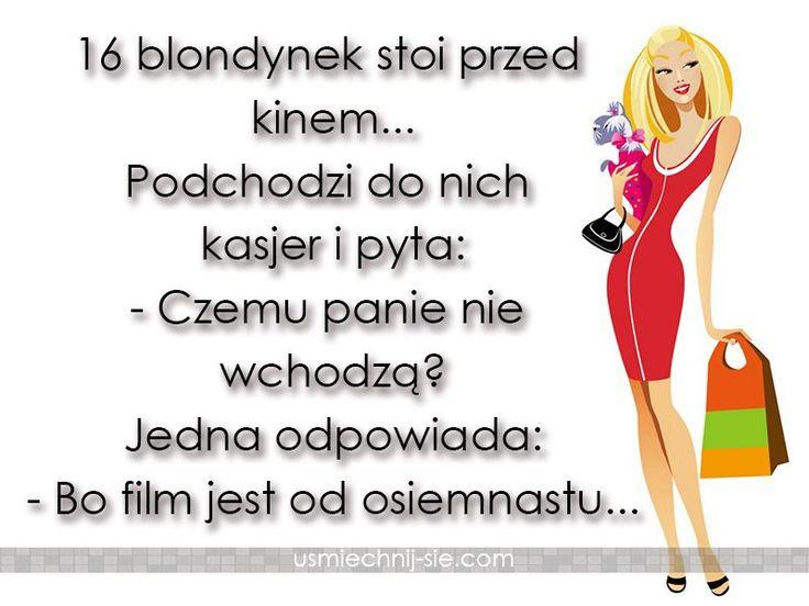 #humor #smieszne #blondynka #dowcipy