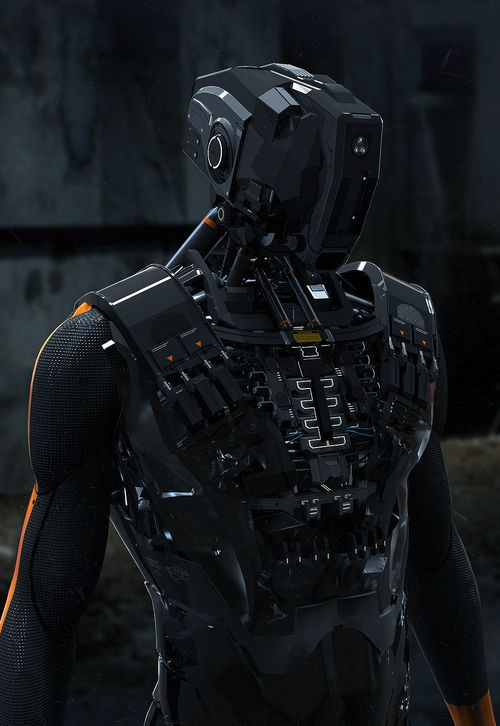 Cyberpunk, Futuristic, Robot