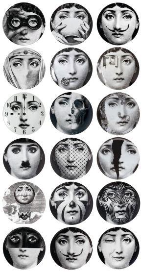 Las mil caras de Julia y el genio detrás de esta genial creación, Piero Fornasetti