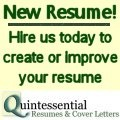 Quintessential Resumes & Cover Letters