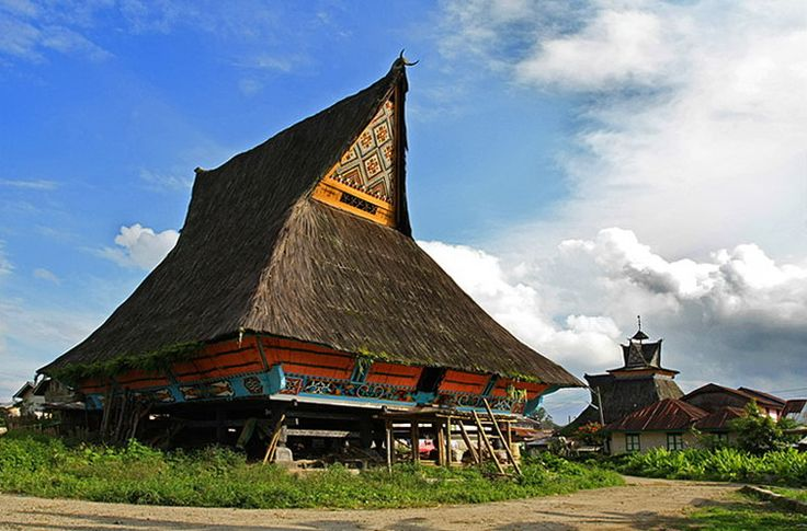 Batak Karo Siwaluh Jabu Indonesia Traditional Houses