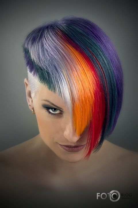 55 Best Futuristic Hair Style Images On Pinterest Hair