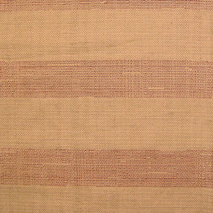 Ripset Brick Burlap Awning Stripe Upholstery Fabric