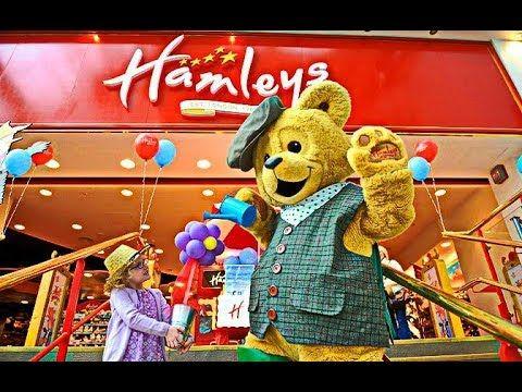 Мир детства в Hamleys
