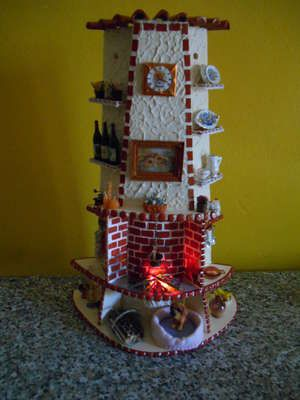 Tegola decorata.. Per rallegrare il vostro appartamento! ;) #handmade