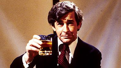 DAVE ALLEN AT LARGE (1971-1976, BBC, UK; theme by Alan Hawkshaw). In the United States on stations that carried Benny Hill, Allen's show was sometimes alternated with it or The Two Ronnies. This was a wonderful British comedy show from that golden age of the early '70s when there were so many good ones. The lively, funky organ theme is of the vintage too, and quite good at that. (KevinR@Ky)