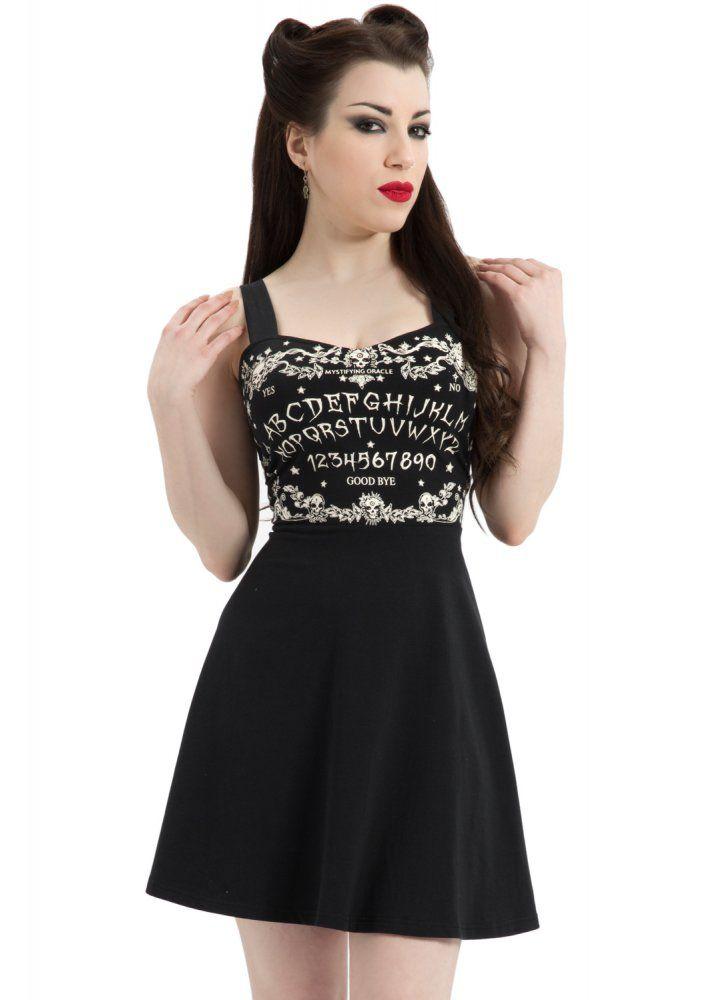 24,59e M Jawbreaker Clothing Ouija Skater Dress