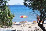 Paradise beach Kos, gezellig druk en lekkere eettentjes in de buurt