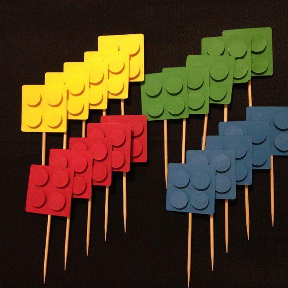 TOPPER DE DOCES LEGO