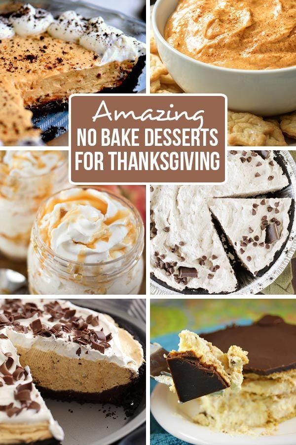 Amazing No Bake Thanksgiving Desserts - FamilyFreshMeals.com