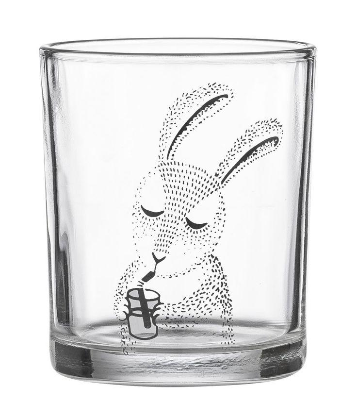 Bloomingville / Dětská sklenička s králíkem Rabbit