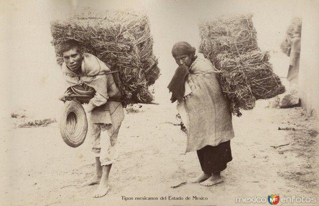 Fotos de Toluca, México, México: Tipicos Mexiquenses Circa 1900