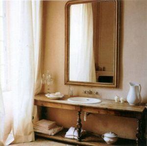 feels nice: Bathroom Sink, Inspiration, Bathroom Vanities, Country Living, Chic Bathrooms, Bathroom Ideas, Bath Ideas, French Country Bathrooms, Vanity Idea