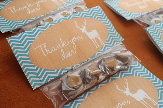 eat.sleep.MAKE.: PARTY: Little Deer Baby Shower (Printables + FREE Cupcake Toppers)