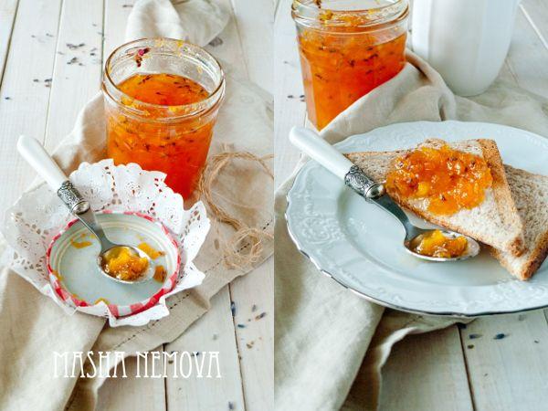 Дом там, где сердце: Абрикосовый конфитюр с лавандой и десерт с его использованием