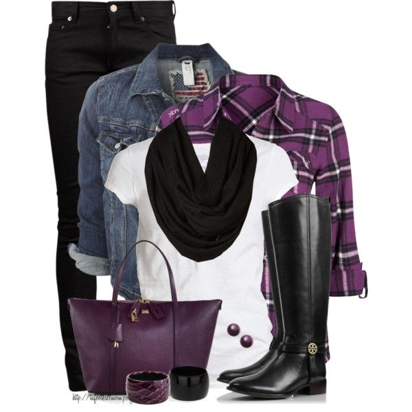 """Purple Power ~ October is Domestic Violence Awareness Month"" by tufootballmom on Polyvore"