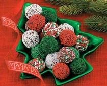 Get my easy holiday chocolate truffle recipe