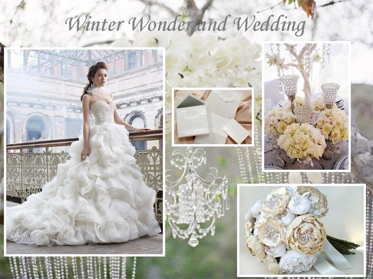 Are You Planning A Winter Wonderland Wedding? This Winter Wedding  Inspiration Board Will Give You Some Ideas On What You Can Do For Your  Wedding.