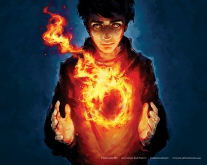 fire mage | flames mage fire kids circles fantasy art magic artwork 1280x1024 ...