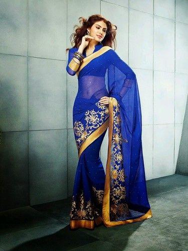 Traditional Indian Bollywood STAR Designer Party wedding Ethinic sari saree