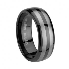 Nero Thumb Tungsten Ring [R0035#Tungsten] - €99.00 : anello in ceramica-Anello di tungsteno-anelli in titanio-fedi nuziali in ceramica