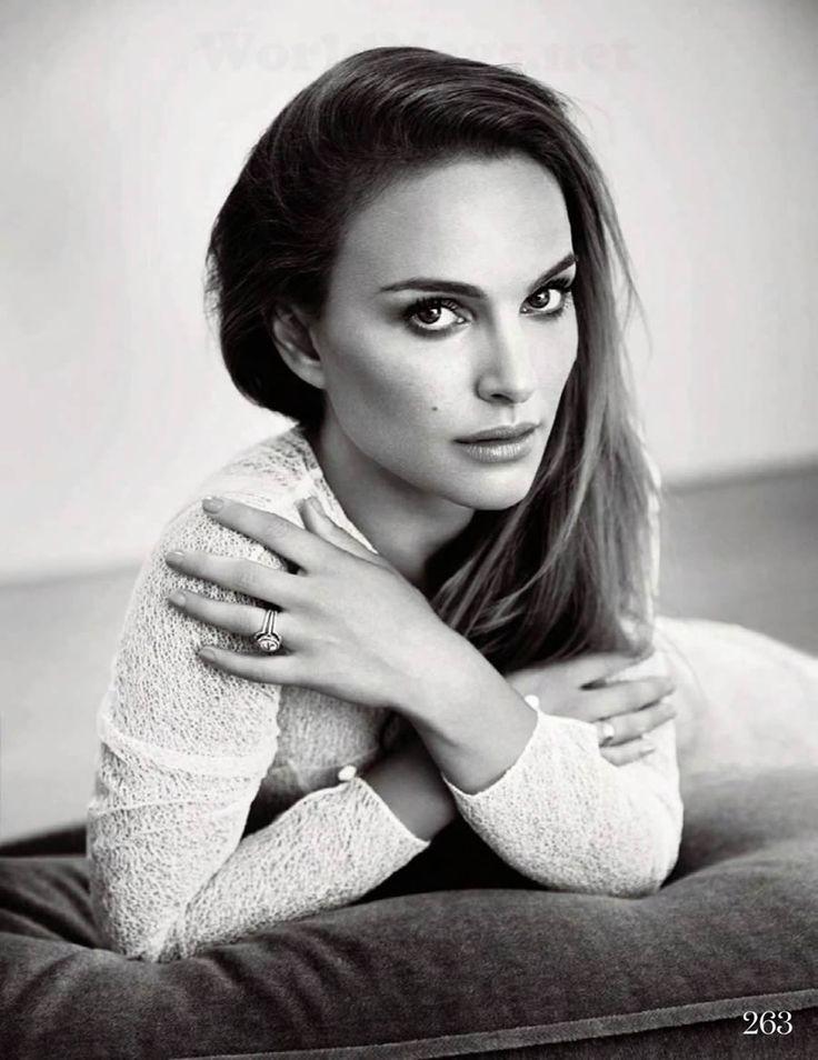 Natalie Portman by Kai Z. Feng for Elle UK November 2013