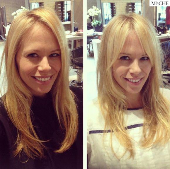 Long Bardot bangs                                                       …