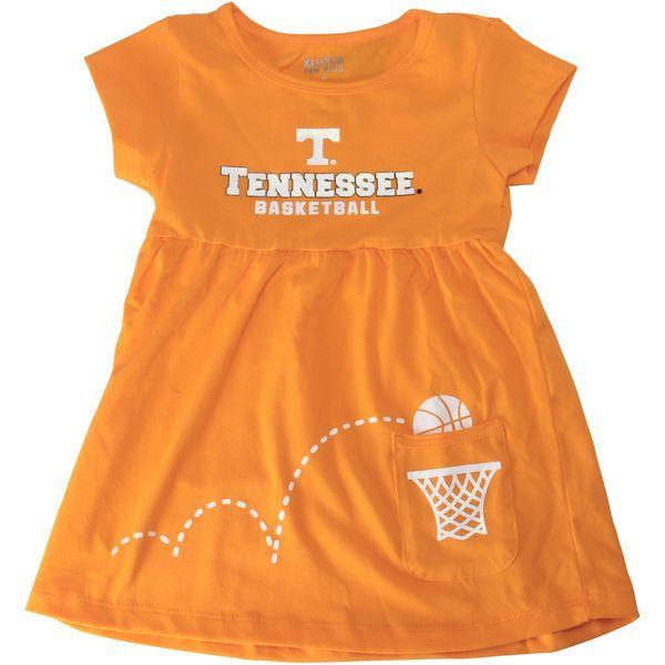 Tennessee Volunteers Girls Toddler Glitter Swoosh Dress – Tennessee Orange - $22.99