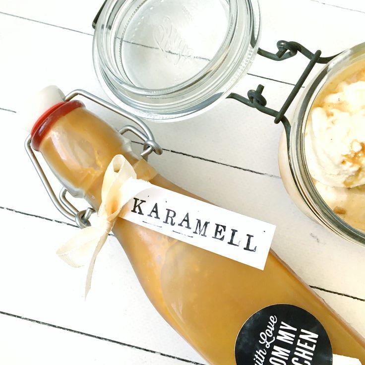 Easypeasy Karamellsirup für alle Gelegenheiten – ich geniesse den am allerliebsten grosszügig über's Eis verteilt – hmmmmm… Sommerfeeling, wenigstens im Herzen ;)  Der…