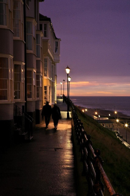 Cromer, Norfolk, UK. My most favourite place in the world. I've been at least once a year since I was in my Mum's tummy. I was even conceived there!!!!!