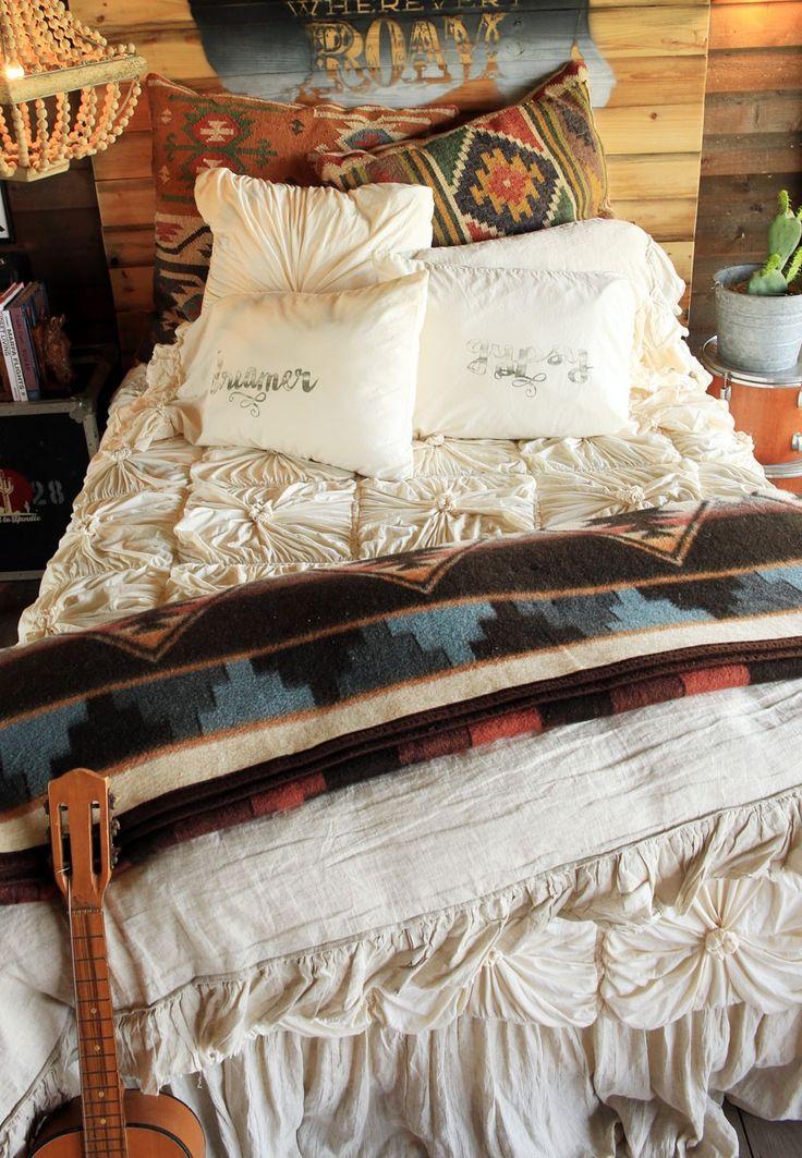 316 besten western style bilder auf pinterest chenille tagesdecke tagesdecken und wolldecke. Black Bedroom Furniture Sets. Home Design Ideas