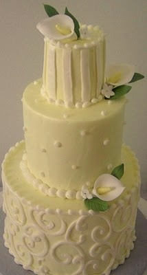 Mini Calla Lily Cake