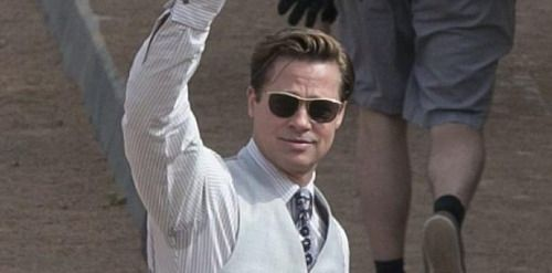 Reaparece Brad Pitt tras su divorcio de Angelina Jolie:...