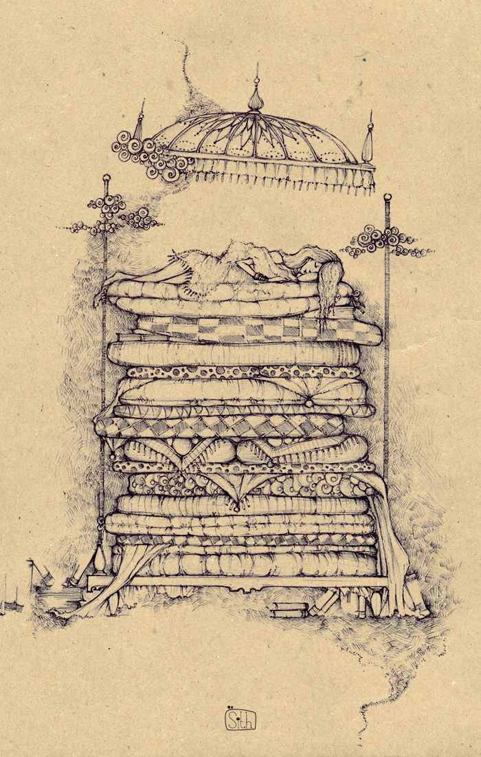 One of my most favorite stories as a child ~ Princess & the Pea