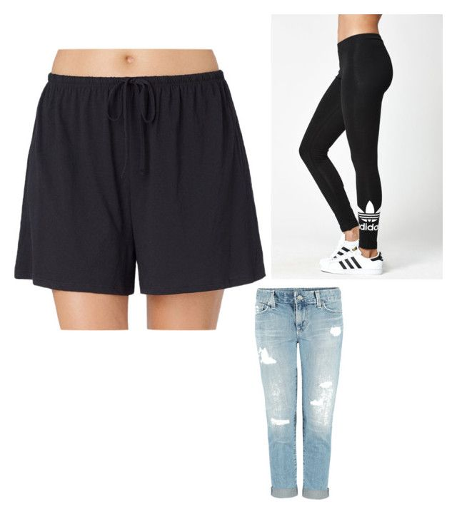 """Top 3 underdel"" by emiliesevel on Polyvore featuring Jockey and adidas"