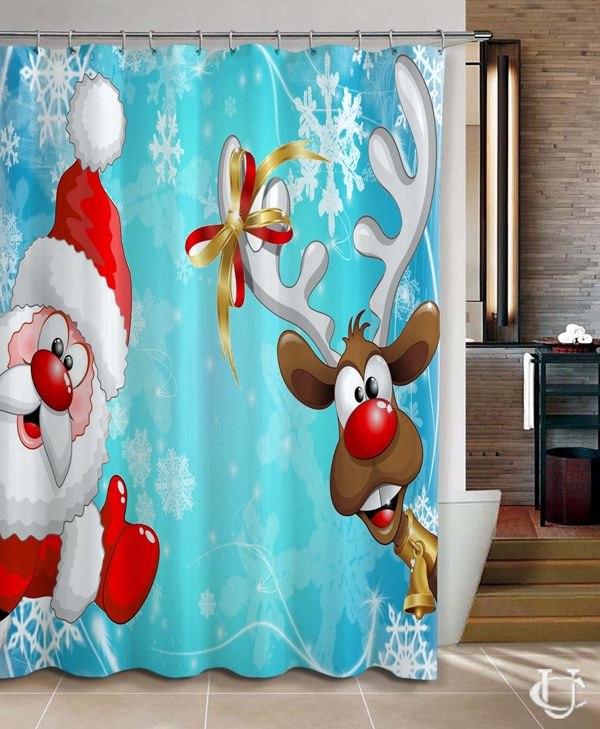 Santa Claus And Deer Winter Christmas Shower Curtain cheap and best quality. *100% money back guarantee #Home_Decor #Home #Decor #Shower_Curtain #Shower #Curtain #Bathroom #Bath #Room #Bath_Room #eBay #Amazon #New #Top #Hot #Best #Bestselling #Best_Selling #Home&Living #Print #On #Print_on #Fashion #Trending #Woman #Man #Teenager #Cheap #Rare #Limited #Edition #Limited_Edition #Unbranded #Generic #Custom #Design #Beautiful #Cool #Accessories #Master #Piece #Luxury #Elegant #Gift #Birthday…
