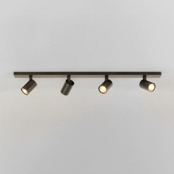 Astro Lighting Ascoli Four Bar Spot Bronze