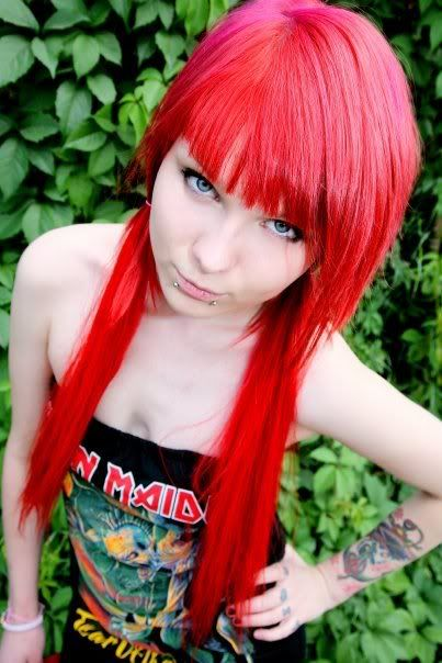 images of red scene hair | red hair scene girl Pictures, Images and Photos