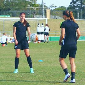Alex Morgan and Tobin Heath-This is who Deana played with and against  before she died. www.adealwithGodbook.com