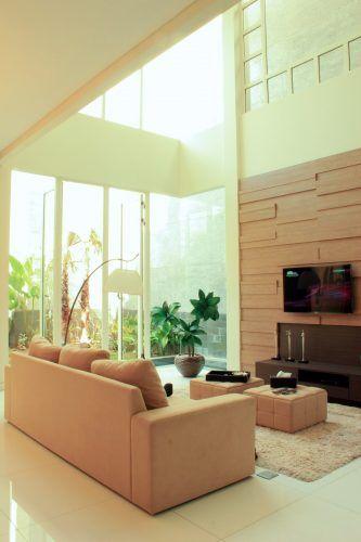 40 Desain Ruang Keluarga Kecil Minimalis Modern